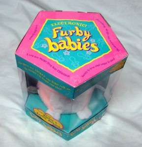 1999 Electronic Furby Babies New in Box 70 940 Pink No Reserve