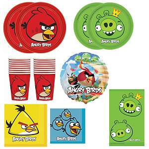 Angry Birds Standard Birthday Party Pack   16 Guests