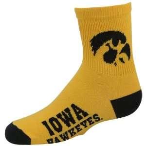 NCAA Iowa Hawkeyes Preschool Dual Color Team Logo Crew