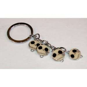 Jack Skellington Key chain with rhinestone