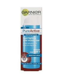 Garnier Pure Active Spot fighting 24hr Moisturiser   Boots