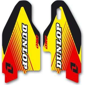 ONE IND FORK GUARD DECALS SUZUKI RMZ 250/450 07 11 Automotive