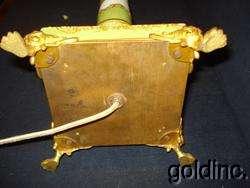 Great 19th C.Sevres Floral Enameled Kerosene Banquet Lamp N/R