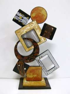 Contemporary Modern Abstract Art Diva Table Sculpture, wood & Metal