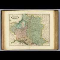 1831 antique Edinburgh WORLD ATLAS old maps LIZARS A24