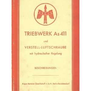 ARGUS As 411 Aircraft Engine Technical Manual   Beschreibung Argus