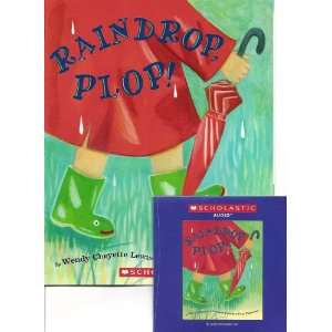 Raindrop, Plop! Book and Audio CD Set (Paperback): Wendy