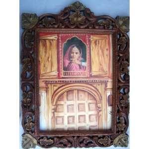 Palace window wood craft hand Made wood frame Art Craft & handicrafts