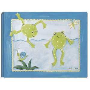 Frog Pond Stretched Giclee