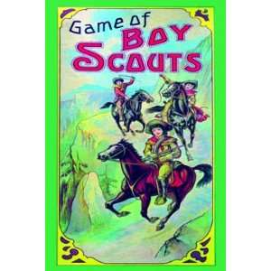 Game of Boy Scouts 20X30 Canvas Giclee