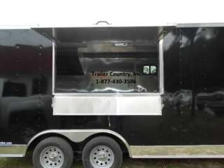 NEW 8.5x16 Enclosed Concession Food Vending BBQ Trailer