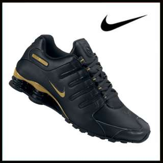 Nike Shox NZ black/gold