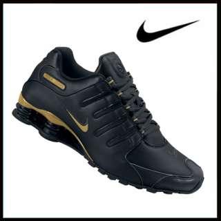 Nike Shox NZ black/gold