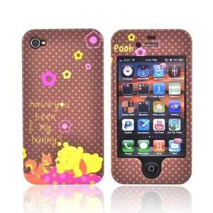 WINNIE THE POOH BROWN Disney iPhone 4 Hard Case Cover