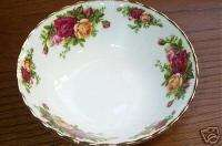 Royal Albert Old Country Roses Oatmeal Cereal Bowls