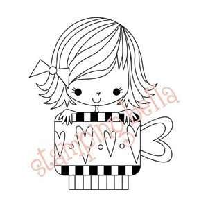New   Stamping Bella Unmounted Rubber Stamp by Stamping