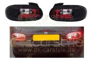 Mazda MX5 MX 5 MX 5 NB LED Rückleuchten / Heckleuchten schwarz 1998