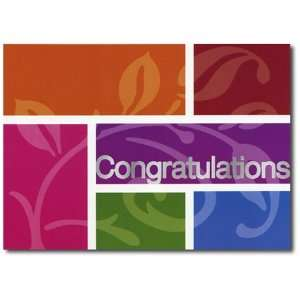 Printing: Congratulations Card No. B3 B 2006 AA2X CN KS Set of 25