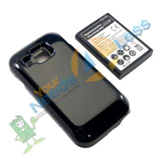 NEW 3500mAh extended battery Samsung Galaxy S Indulge R910 + Cover