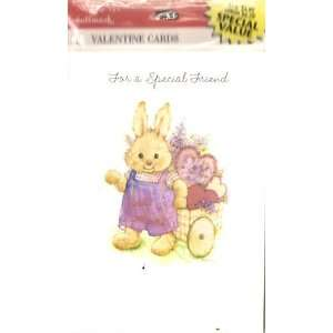 Bunny Love Valentines Day Cards 8 Count