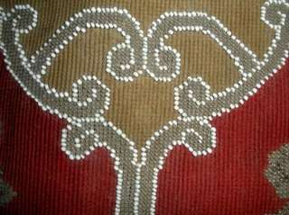 Antique Victorian Beadwork & Needlepoint Embroidery