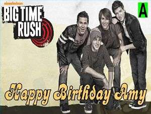 Big Time Rush Custom Cake Topper 8 styles