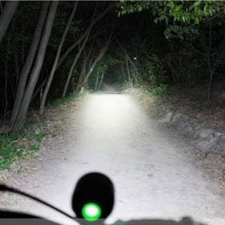 Rechargeable 1200 Lumens SSC P7 LED Bicycle bike Head + Rear Light