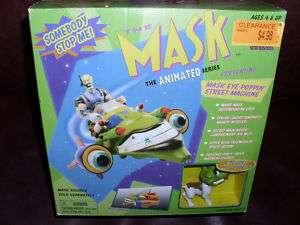 Vintage The Mask Cartoon Street Machine Carrey MIB 97