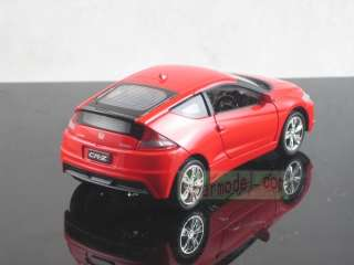 32 Honda CR Z Red pull back car Metal Die Cast model