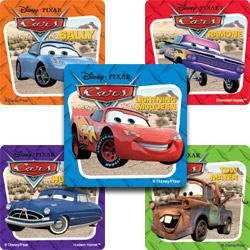 15 Large Disney Cars Stickers Favors, rewards Kids Love Stickers
