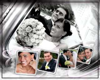 MultiLayered PSD Wedding Album Templates 4 Photoshop V3