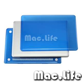 BLUE Crystal Hard Case Cover for NEW Macbook PRO 13