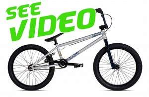 FICTION BMX Bike FABLE 1 Silver Blue by STOLEN Bicycle Dirt Street