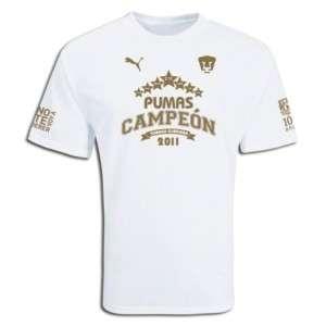 Puma UNAM Pumas 2011 League Champions SOCCER Shirt