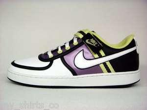 Nike Womens Vandal Low White Black Lime Green Purple Size 11 Retro