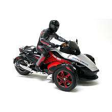 New Bright 110 Scale Can Am Spyder with Rider   Red (Styles Vary