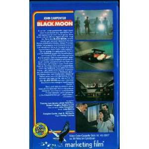 Black Moon [VHS] Tommy Lee Jones, Linda Hamilton, Robert Vaughn, Lalo