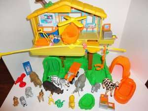 Go Diego Talking Rescue Center Treehouse Dora *LOADED* ~ HARD TO FIND