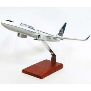 BOEING 737 800 CONTINENTAL AIRCRAFT MODEL PLANE ITEM