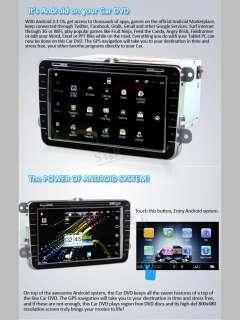 Car Audio GPS DVD Player For VW Golf Touran Jetta EOS Caddy Polo W T5