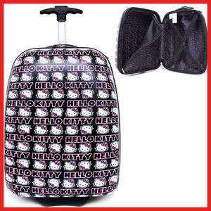 Hello Kitty Rolling Luggage,ABS Trolley Bag,17 Hard Suit Case Block