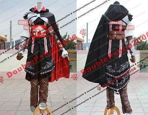 Assassins Creed II 2 Ezio black Cosplay Costume