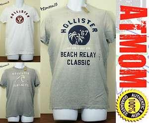NWT Hollister Men Vintage Classic T  Shirt New M L