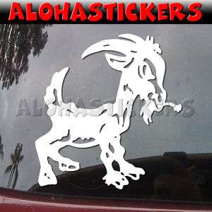 BABY GOAT Vinyl Decal Car Truck Farm Billy Sticker B192
