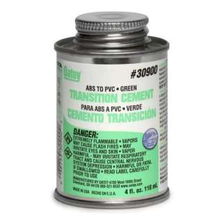 Oatey 4 oz. ABS to PVC Transition Cement 3090033