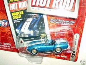 JL 1/64 hot rod mag 1965 SHELBY COBRA 427 S/C ROADSTER