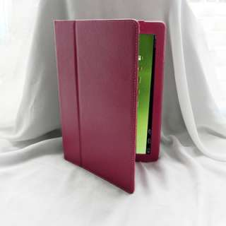 Acer Iconia Tab A500 A501 Folio Leather Case Cover with Stand Blue