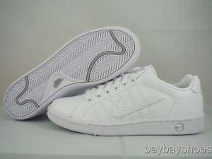 NIKE COURT TRADITION 2 WHITE/SILVER WOMENS ALL SIZES