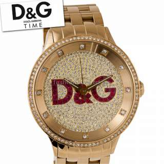 XXL Big DOLCE & GABBANA D&G Uhr Watch Gold Unisex Damen Herren