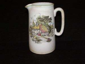 Antique Lord Nelson Pottery Pitcher Made In England
